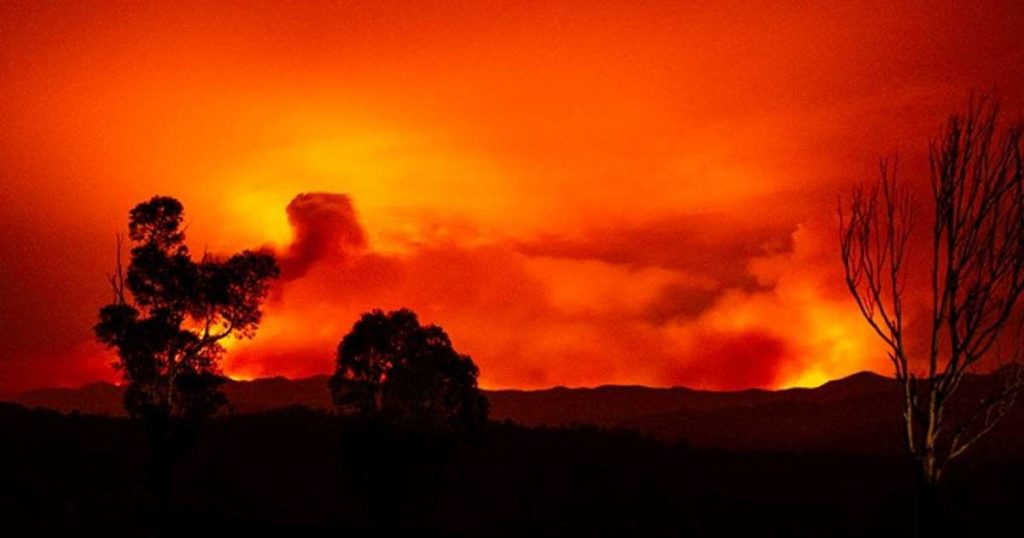 Australia burning